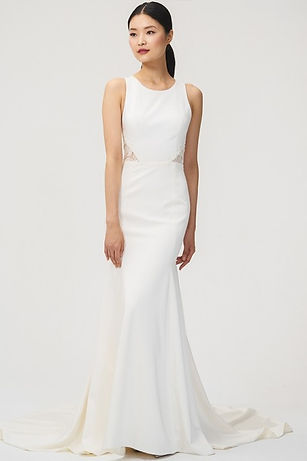 Jenny Yoo Reid gown front view