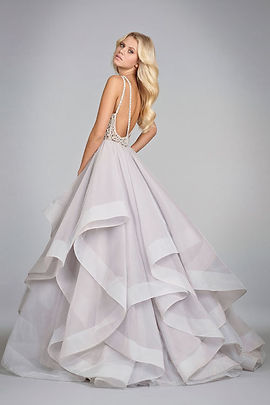 Hayley Paige Dori gown back view