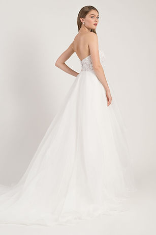 Jenny Yoo Georgina gown back view