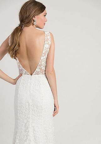 Jenny Yoo Arden gown back view