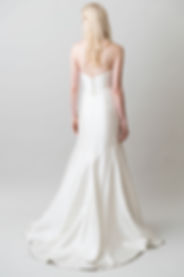 Jenny Yoo London gown back view