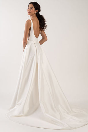 Jenny Yoo Lawrence gown back view