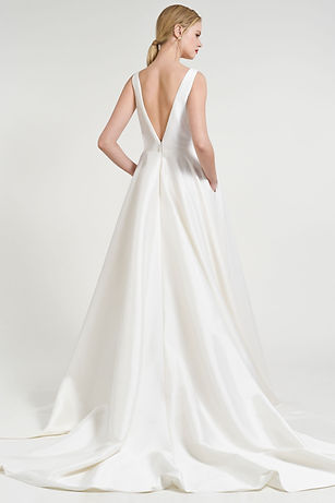 Jenny Yoo Spencer gown back view