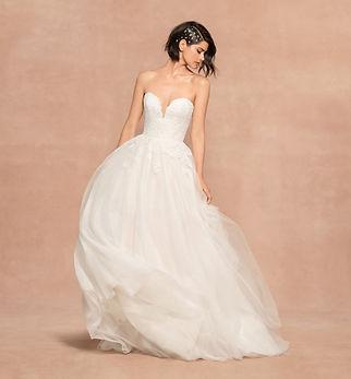 Blush by Hayley Paige bridal gown style Wynn