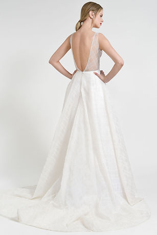 Jenny Yoo Avery gown back view