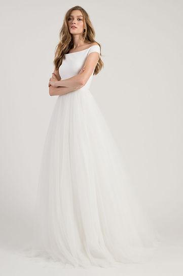 Jenny Yoo wedding gown style Amelia Front