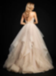 Hayley Paige Chandon gown back view