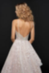 Hayley Paige Reagan gown back view