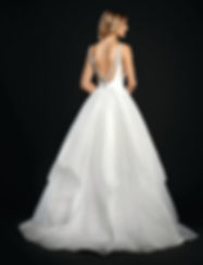 Hayley Paige Dare gown back view
