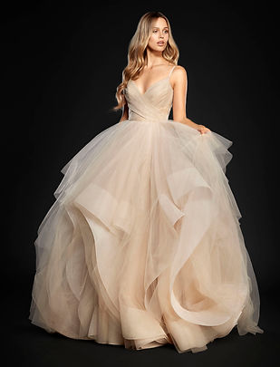 Hayley Paige Chandon gown front view