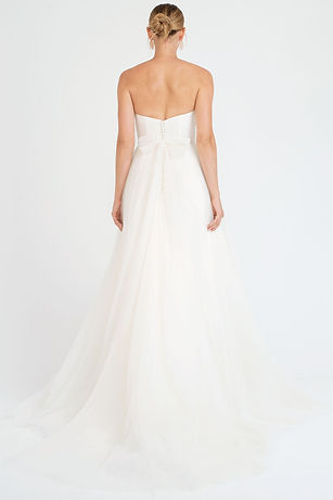 Jenny Yoo Everly gown back view