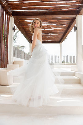 Scout by Sarah Seven Bridal Gown Style Bliss back view