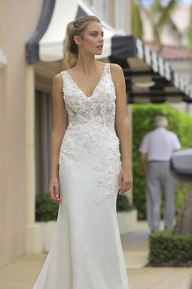 Randy Fenoli Andrea gown front view