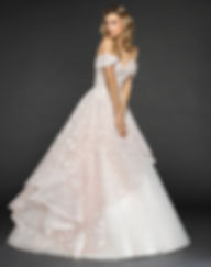 Hayley Paige Lyla gown front view