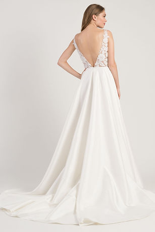 Jenny Yoo Connor gown back view