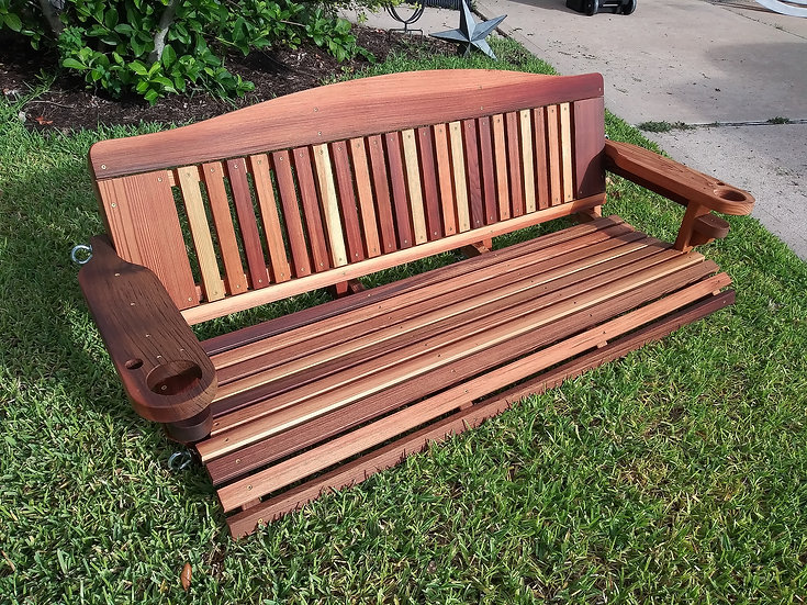 Deluxe Cedar Porch Swings