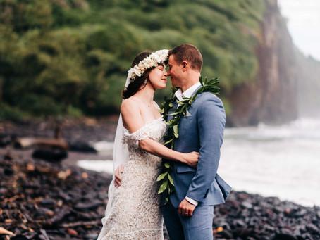 Josh & Tyndall's Hawaii Elopement