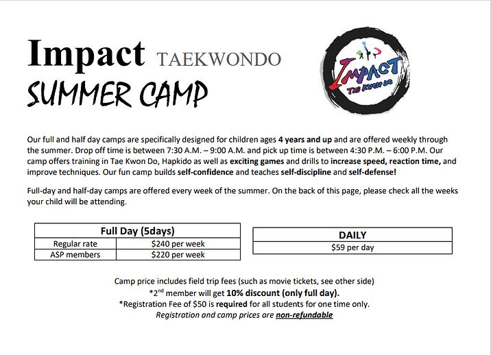 impact taekwondo summer camp sign up.png