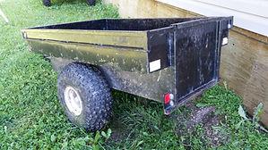 Tub Trailer for Rent  Whitecourt, Fox Creek, Valley View, Drayton Valley, Swan Hills, Grande Prairie