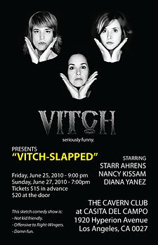 VITCH-SLAPPED poster 2010