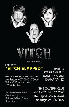 VITCH-SLAPPED poster 2010