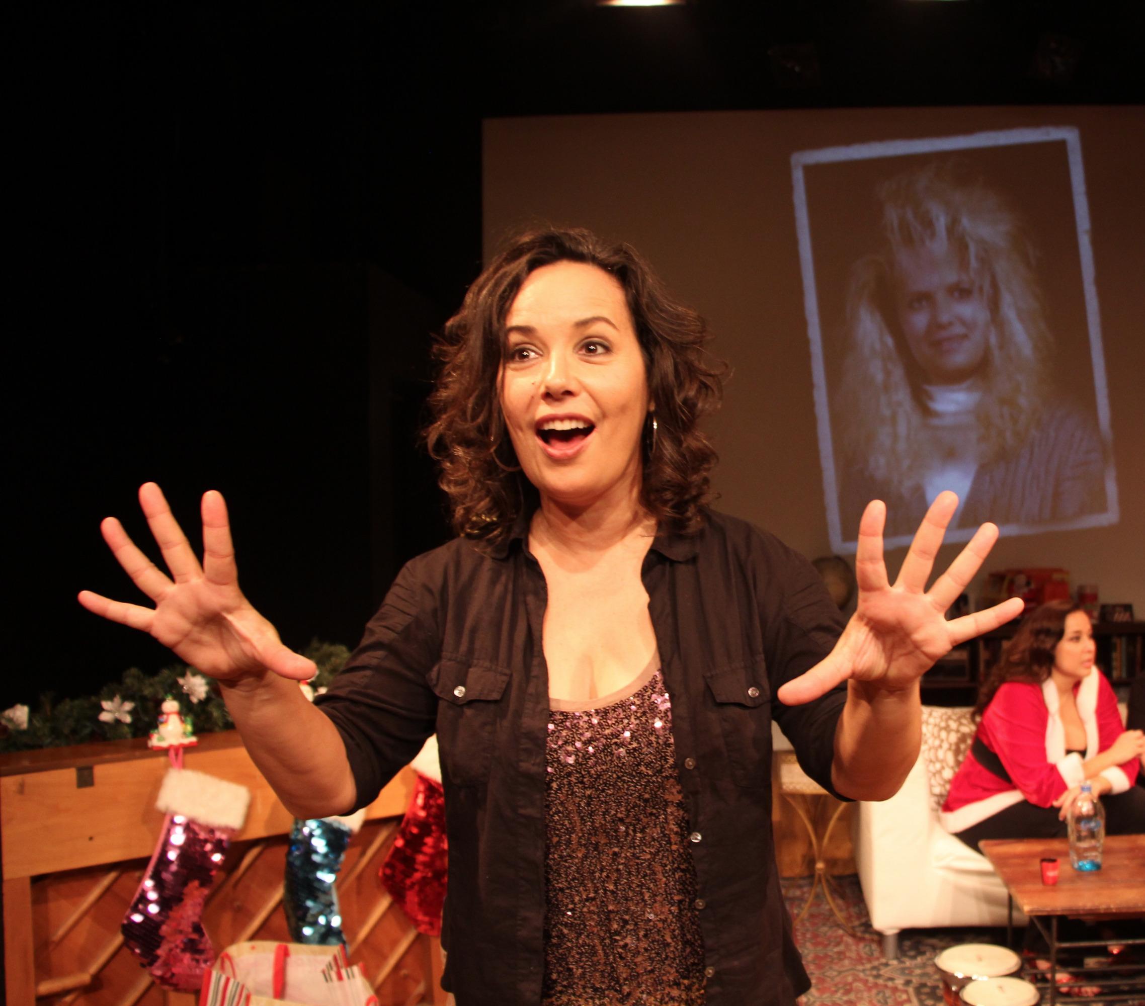 Diana Yanez in Latina Christmas Special.
