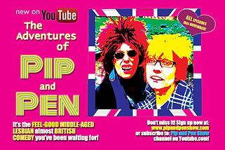 PIP+PEN SHOW postcard 2016