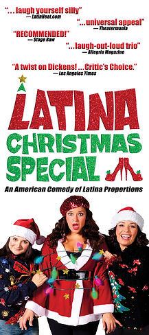 Latina Christmas Special 2019 rack card