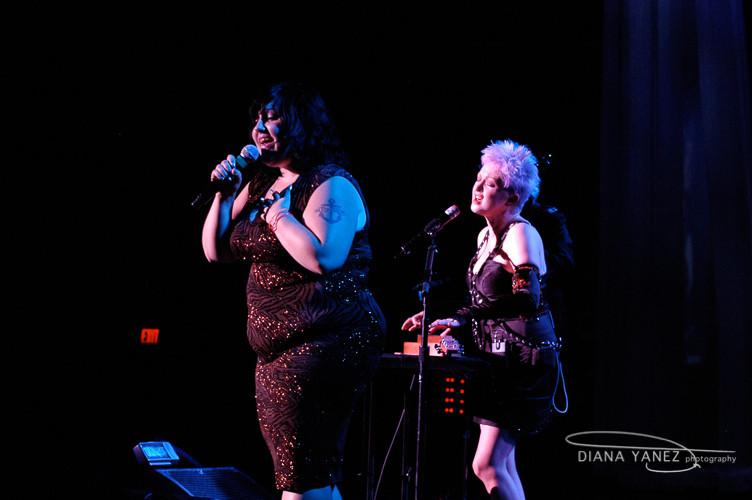 Beth Ditto (Gossip) & Cyndi Lauper