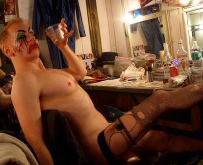 Male Burlesque King: Tigger