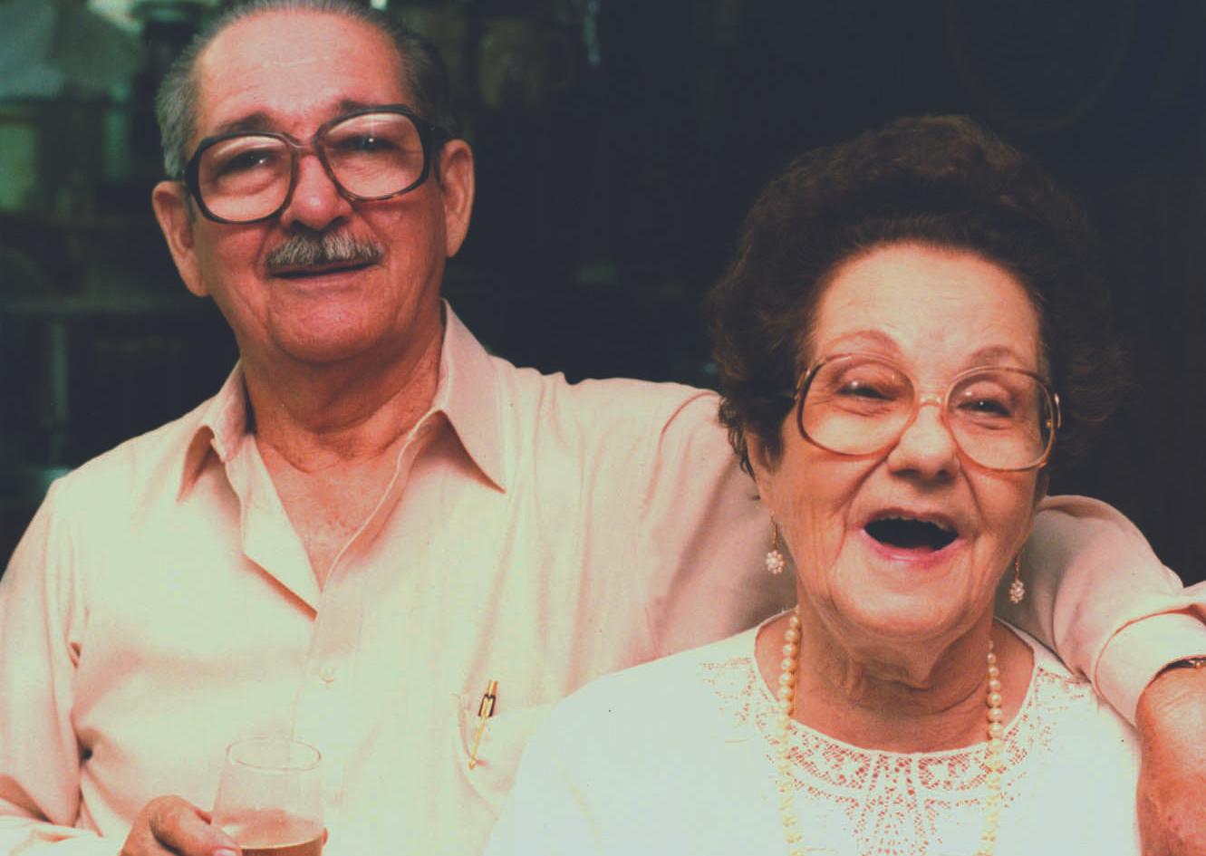 Abuelo y Abuela (Miami 1980s)