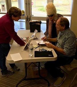 Book Signing Northford Edward Smith Libr