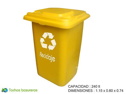 contenedor de basura 240Lt