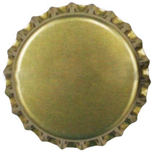 Tampinha Pry-Off - Dourada 100 Unid