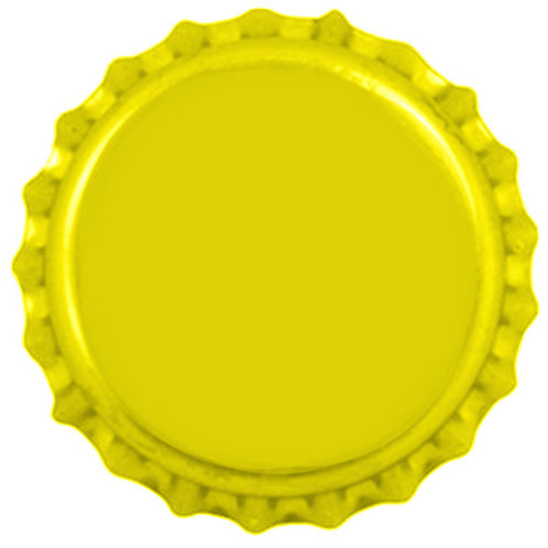 Tampinha Pry-Off - Amarela  100 Unid