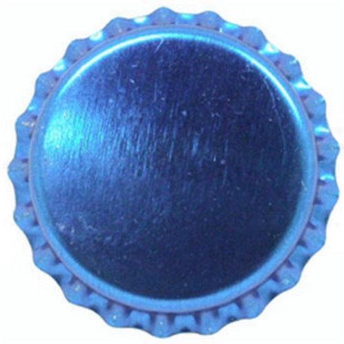 Tampinha Pry-Off - Azul Ciano Metálico 100 Unid