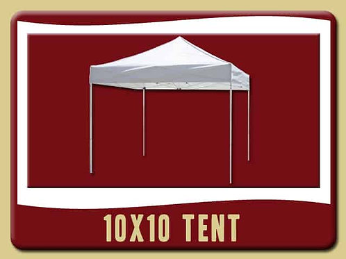 10'x10' Commercial Tent