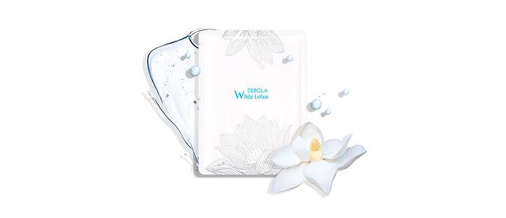 蓮花清新水潤面膜