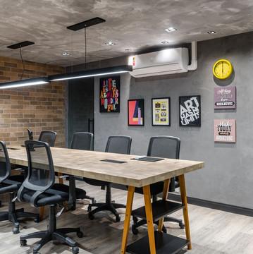 Área de trabalho Startup design