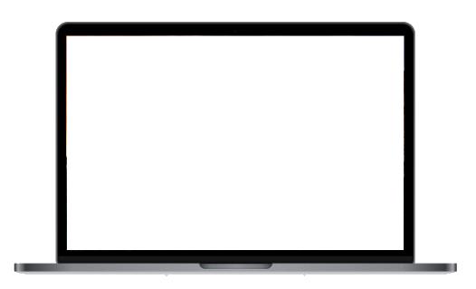 Laptop funo transparente sem marca