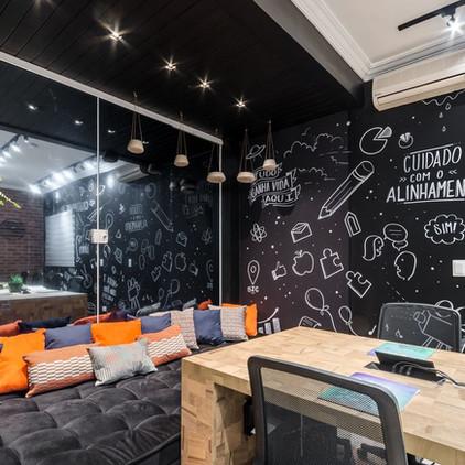 Work place quadro negro