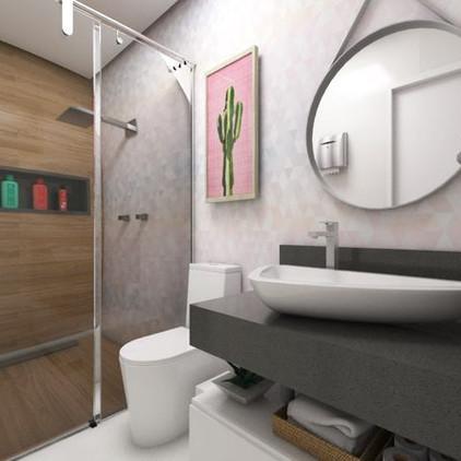 Banheiro Fem Área Comum Ed. San Marino C