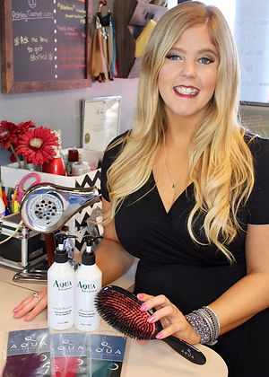Ashley specializes in hair color and tape-in extensions. Color melts, hilights, lowlights, balayage in Tulsa, Oklahoma.