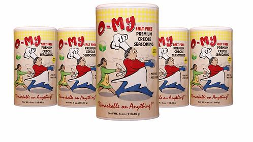 O-My No Salt Seasoning( 6 pack)