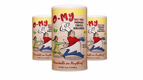 O-My No Salt Seasoning(3 pack)