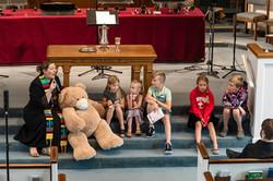 Children's sermon Pastor Jackie