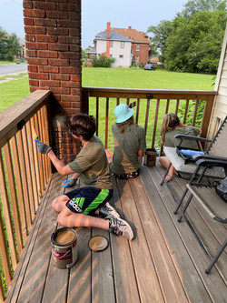 HS Youth porch 2021