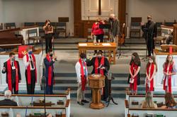 Confirmand Sunday baptism 2021