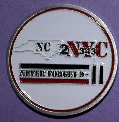 NC2NYC Challange Coin