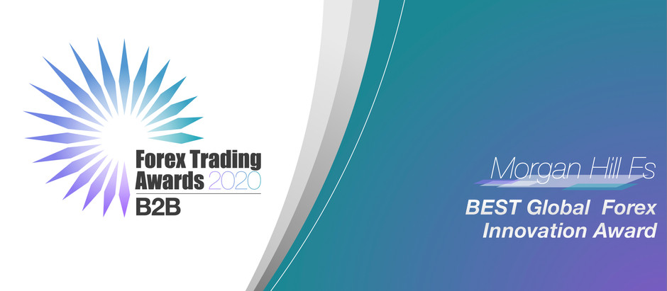 "Morgan Hill Fs Receives ""Best Global Forex Innovation 2020"" Award"